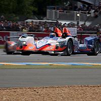 #25 Oreca 03 NIssan, Team ADR Delta, Drivers: Martin/Charouz/Graves, Le Mans 24H 2012