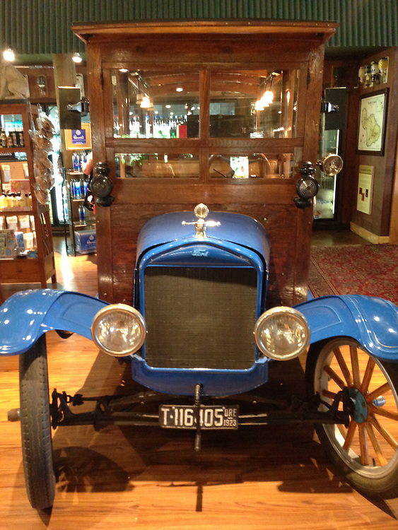 Model T Ford Truck Inside Country Store at Maui Tropical Plantation, Maui, Hawaii, US
