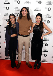 The Michaels family from Gogglebox arriving at the BBC Radio 1 Teen Awards, held at the SSE Wembley Arena, London.<br /> <br /> Picture date: Sunday, 23 October, 2016. Photo credit should: Doug PetersEMPICS Entertainment