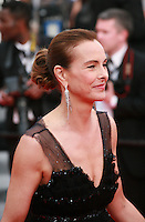 Carole Bouquet at The Search gala screening red carpet at the 67th Cannes Film Festival France. Tuesday 20th May 2014 in Cannes Film Festival, France.
