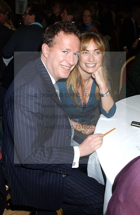 ORLANDO FRASER and CLEMENTINE HAMBRO at a quiz night in aid of RAPt ( The Rehabilitation for Addicted Prisoners Trust) held at Hammersmith Town Hall, King Street, London W6 on 14th November 2005.<br /><br />NON EXCLUSIVE - WORLD RIGHTS