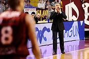 DESCRIZIONE : Venezia Lega A 2014-15 Umana Venezia Granarolo Bologna<br /> GIOCATORE : Giorgio Valli<br /> CATEGORIA : delusione allenatore<br /> SQUADRA : Granarolo Bologna<br /> EVENTO : Campionato Lega A 2014-2015<br /> GARA : Umana Venezia Granarolo Bologna<br /> DATA : 08/03/2015<br /> SPORT : Pallacanestro <br /> AUTORE : Agenzia Ciamillo-Castoria/M.Marchi<br /> Galleria : Lega Basket A 2014-2015 <br /> Fotonotizia : Venezia Lega A 2014-15 Umana Venezia Granarolo Bologna