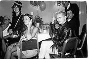 Harriet Jagger and Michael Clark,  Leukemia Ball, Hurlingham Club, 15 July 1985. © Copyright Photograph by Dafydd Jones 66 Stockwell Park Rd. London SW9 0DA Tel 020 7733 0108 www.dafjones.com