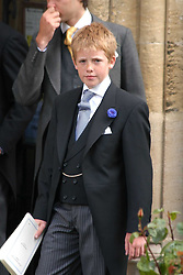 EARL GROSVENOR at the wedding of Hugh van Cutsem to Rose Astor in Burford, Oxfordshire on 4th June 2005.<br />