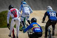 2021 UCI BMXSX World Cup<br /> Round 2 at Verona (Italy)<br /> 1/16 Finals<br /> ^me#959 SCHOTMAN, Mitchel (NED, ME) Oegema Fieten<br /> ^me#494 BRUNNER, Gil (SUI, ME) Team_CH, Nologo