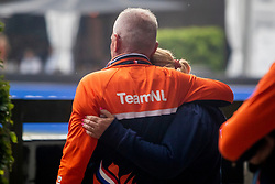Van Silfhout Alex, Werner Nicole, <br /> CHIO Rotterdam 2021<br /> © Hippo Foto - Sharon Vandeput<br /> 3/07/21