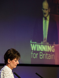 September 17, 2016 - London, England, United Kingdom - Image ©Licensed to i-Images Picture Agency. 17/09/2016. London, United Kingdom. As Douglas Carswell MP for Clacton speaks, Diane Smith MEP and newly elected leader of UKIP sits on the stage during the Party's conference in Bournemouth. Picture by i-Images (Credit Image: © i-Images via ZUMA Wire)