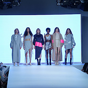 London,England,UK : 7th June 2016 : Graduate student Katherine Harris showcases their work at the GFW 25th Anniversary Day three show of Brighton University held at Truman Brewery, London. © See Li/Alamy Live