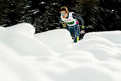 February 3, 2018 - Goms, SWITZERLAND - 180203 Liam Burton of Australia competes in the men's 4x5 km relay during the FIS Nordic Junior World Ski Championships on February 3, 2018 in Obergoms..Photo: Vegard Wivestad GrÂ¿tt / BILDBYRN / kod VG / 170099 (Credit Image: © Vegard Wivestad Gr¯Tt/Bildbyran via ZUMA Press)