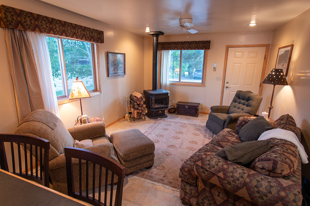 Townhome on Granada Court in Westcliffe, offers accessible, affordable place to stay, with amazing mountain views.