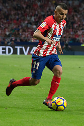 October 28, 2017 - Madrid, Spain - Correa..Draw at 1 in Wanda Metropolitano stadium. (Credit Image: © Jorge Gonzalez/Pacific Press via ZUMA Wire)