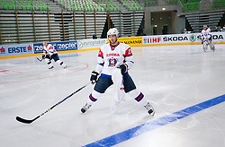 Ales Kranjc during first practice session of Slovenian National Ice Hockey team in Arena Stozice before 2012 IIHF World Championship DIV I Group A in Slovenia, on April 13, 2012, in Arena Stozice, Ljubljana, Slovenia. (Photo by Vid Ponikvar / Sportida.com)