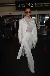 Taylor Hill arriving at Nice Airport ahead of Cannes Film Festival in Nice, France on May 16, 2019. Photo by Julien Reynaud/APS-Medias/ABACAPRESS.COM