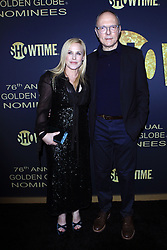 January 5, 2019 - West Hollywood, CA, USA - LOS ANGELES - JAN 5:  Patricia Arquette, Michael Tolkin at the Showtime Golden Globe Nominees Celebration at the Sunset Tower Hotel on January 5, 2019 in West Hollywood, CA (Credit Image: © Kay Blake/ZUMA Wire)