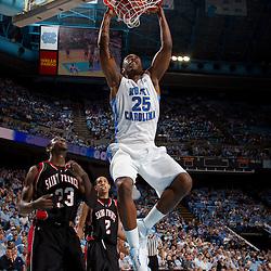 2011-01-02 St. Francis at North Carolina basketball