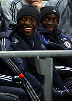 Photo: Paul Thomas.<br /> Manchester City v Chelsea. The Barclays Premiership. 14/03/2007.<br /> <br /> Shaun Wright-Phillips, on the bench for Chelsea.
