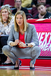 NORMAL, IL - January 05:  Kristen Gillespie during a college women's basketball game between the ISU Redbirds and the Purple Aces of University of Evansville January 05 2020 at Redbird Arena in Normal, IL. (Photo by Alan Look)
