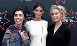 Edinburgh Film Festival, Friday 29th June 2018<br /> <br /> ANNA AND THE APOCALYPSE (UK PREMIERE)<br /> <br /> Pictured: Marli Sui, Ella Hunt and Sarah Swire<br /> <br /> Alex Todd | Edinburgh Elite media