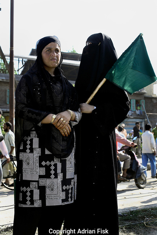 On the 22nd August 2008 an estimated 350,000 Kashmiri's marched to the Eidgha communal ground in Srinagar demanding Independence from India. Local Kashmiri's said they had never witnessed anything like it in their lifetime. .Pro Independent Kashmir supporters....