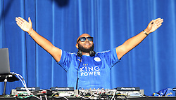 Radio 1 DJ Mr Jam at Victoria park during the victory celebrations - Mandatory by-line: Jack Phillips/JMP - 16/05/2016 - FOOTBALL - Leicester City FC, Sky Bet Premier League Winners 2016 - Leicester City Victory Parade