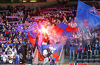 Fotball eilteserien tippeligaen 27.06.06, Rosenborg - Vålerengen, supportere, illustrasjon, all grunn til å feire...<br /> Foto: Carl-Erik Eriksson, Digitalsport
