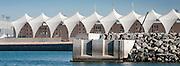 Abu Dhabi, UAE, Feb 08, 2010, Yas Island, Ferrari world and marina's. PHOTO © Christophe Vander Eecken
