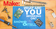 Ad Banner for Make: Show & Tell
