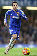 Pedro of Chelsea in action. Barclays Premier league match, Chelsea v AFC Bournemouth at Stamford Bridge in London on Saturday 5th December 2015.<br /> pic by John Patrick Fletcher, Andrew Orchard sports photography.