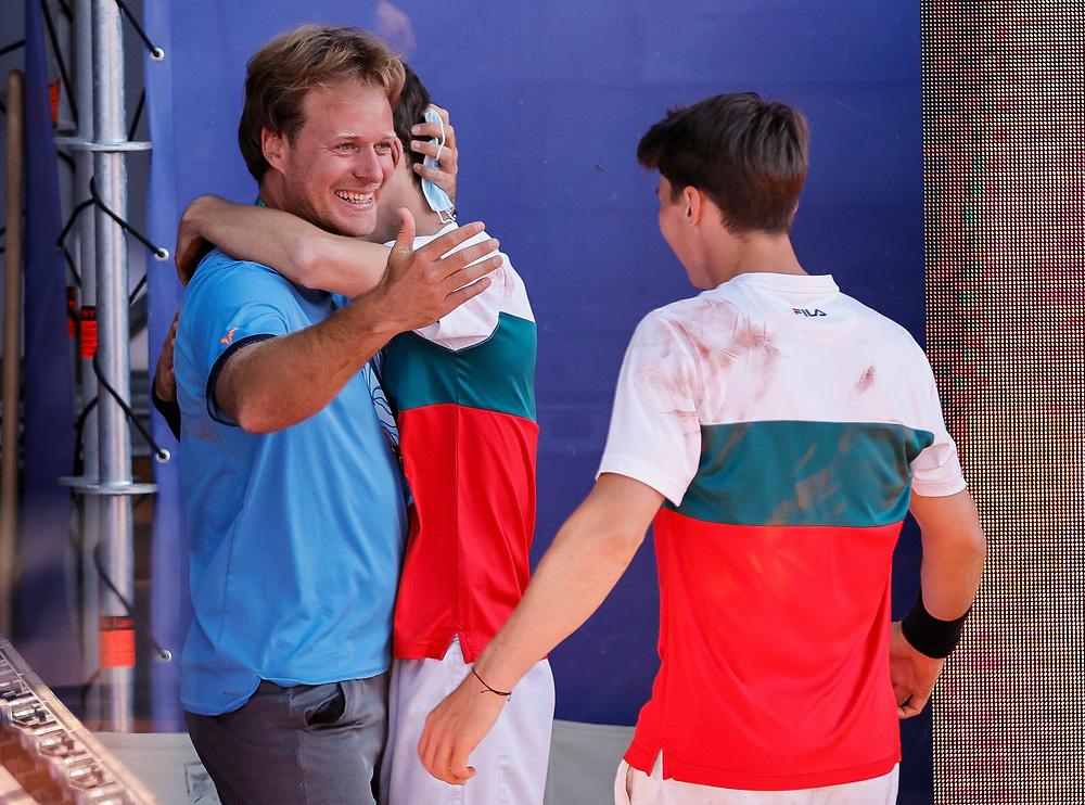 Zsolt Juhasz<br /> Tennis-ATP Serbia Open Belgrade 2021-Final Doubles<br /> Ariel Behar (URG) & Gonzalo Escobar (ECU) v Ivan Sabanov (CRO) & Matej Sabanov (CRO<br /> Beograd, 24.04.2021.<br /> foto: Srdjan StevanovicStarsportphoto ©