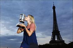 Maria Sharapova wins the French open 9-6-12