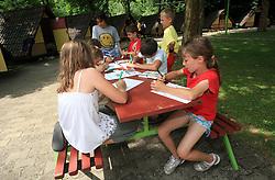 Otroska rokometna akademija Urosa Z. v Dolenjskih toplicah, 27. junija 2008, Dolenjske toplice, Slovenija. (Photo by Vid Ponikvar / Sportal Images)