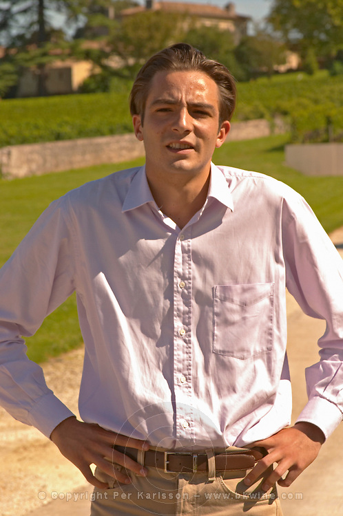 Jean Antoine Nony of the family that owns Grand Mayne - Chateau Grand Mayne, Saint Emilion, Bordeaux