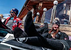 02.04.2018, Skizentrum Hochzillertal, Kaltenbach, AUT, JumpandReach Skitag, im Bild Elisabeth Raudaschl // during the Skiing Day after the Winterseason with the Austrian JumpandReach Athletes at the Skiresort Hochzillertal, Austria on 2018/04/02. EXPA Pictures © 2018, PhotoCredit: EXPA/ JFK