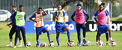 Cape Town-180823- Cape Town City players  at training preparing for their up comingMTN 8 semi-final against Sundowns at Cape Town Stadum.Photographer :Phando Jikelo/African News Agency/ANA