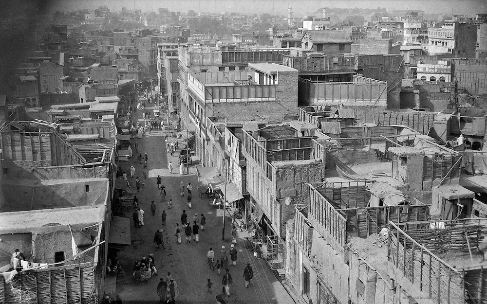 Peshawar City from Police Station Roof, India, 1929