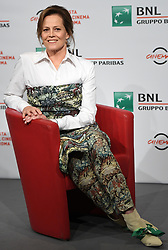 Sigourney Weaver attends a photocall during the 13th Rome Film Fest at Auditorium Parco Della Musica on October 24, 2018 in Rome, Italy. Photo: Eric Vandeville/ABACAPRESS.COM
