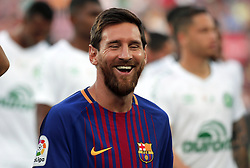 August 7, 2017 - Barcelona, Spain - Leo Messi during the friendy Joan Gamper trophy match between F.C. Barcelona v Chapecoense, in Barcelona, on August 07, 2017. Photo: JoanValls/Urbanandsport/Nurphoto  (Credit Image: © Urbanandsport/NurPhoto via ZUMA Press)
