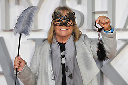Linda Robson arriving for the Fifty Shader Darker European Premiere held at Odeon Leicester Square, London. Picture date: Thursday February 9, 2016. Photo credit should read: Doug Peters/ EMPICS Entertainment
