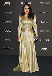 2018 LACMA ART+FILM Gala. 03 Nov 2018 Pictured: Salma Hayek Pinault. Photo credit: Jaxon / MEGA TheMegaAgency.com +1 888 505 6342