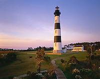 AA03263-01...NORTH CAROLINA - Bodie Island Lighthouse in the Outer Banks.