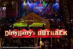 Dirty Harry's on Main Street during the Daytona Bike Week 75th Anniversary event. FL, USA. Sunday March 6, 2016.  Photography ©2016 Michael Lichter.