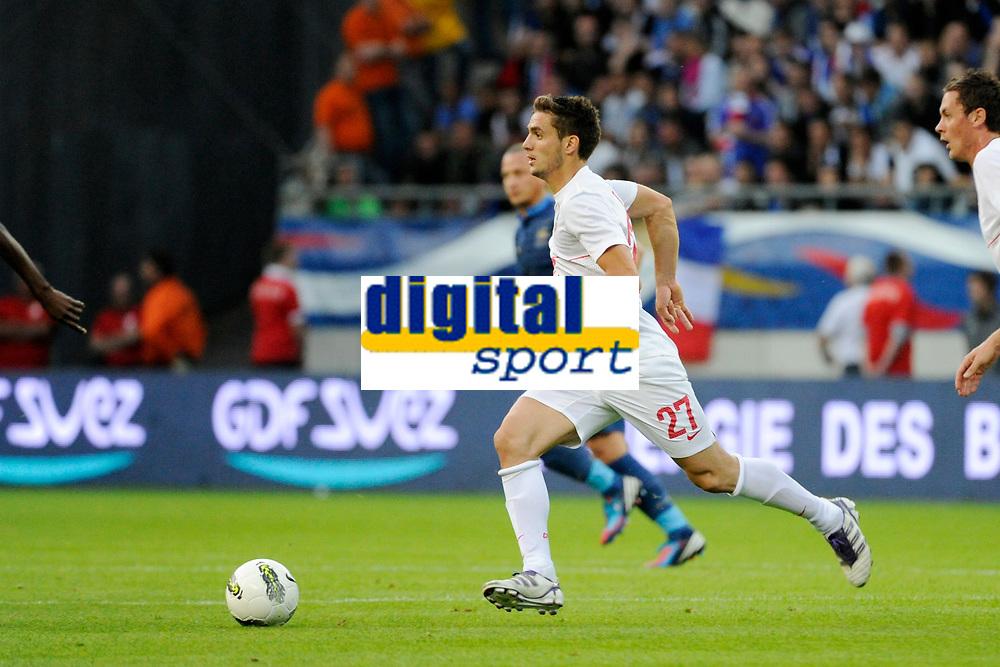 FOOTBALL - FRIENDLY GAME 2012 - FRANCE v SERBIA - REIMS (FRANCE) - 31/05/2012 - PHOTO JEAN MARIE HERVIO / REGAMEDIA / DPPI - DUSAN TADIC (SER)