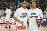 DESCRIZIONE : Roma Lega A1 2006-07 Lottomatica Virtus Roma Whirlpool Varese <br /> GIOCATORE : Nuovi Orizzonti <br /> SQUADRA : Lottomatica Virtus Roma <br /> EVENTO : Campionato Lega A1 2006-2007 <br /> GARA : Lottomatica Virtus Roma Whirlpool Varese <br /> DATA : 25/04/2007 <br /> CATEGORIA : <br /> SPORT : Pallacanestro <br /> AUTORE : Agenzia Ciamillo-Castoria/G.Ciamillo