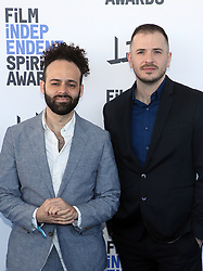 February 8, 2020, Los Angeles, California, United States: 2020 Film Independent Spirit Awards held at Santa Monica Pier..Featuring: Jason Begue, Shawn Snyder.Where: Los Angeles, California, United States.When: 08 Feb 2020.Credit: Faye's VisionCover Images (Credit Image: © Cover Images via ZUMA Press)