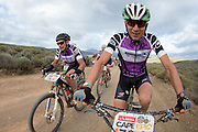 Heinz Zoerweg (right) and Andrew Mclean (left) of Team Cycle Lab Toyota maintain their lead in the grand-masters category during stage 3 of the 2014 Absa Cape Epic Mountain Bike stage race held from Arabella Wines in Robertson to The Oaks Estate in Greyton, South Africa on the 26 March 2014<br /> <br /> Photo by Greg Beadle/Cape Epic/SPORTZPICS