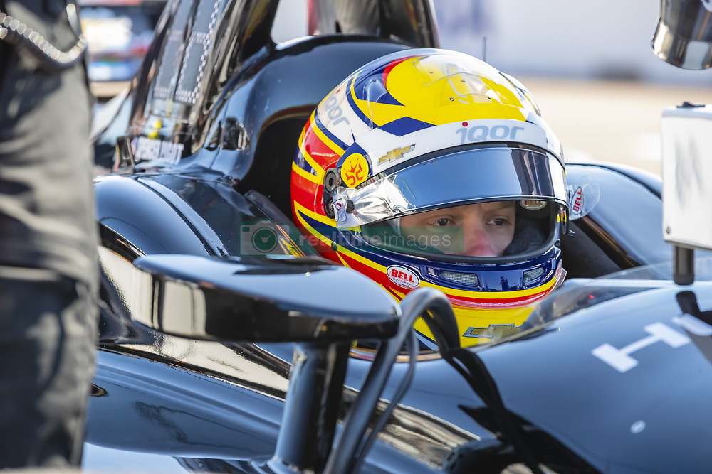 March 9, 2019 - St. Petersburg, Florida, U.S. - ED JONES (20) of The United Emerates prepares for a practice session for the Firestone Grand Prix of St. Petersburg at The Temporary Waterfront Street Course in St. Petersburg Florida. (Credit Image: © Walter G Arce Sr Asp Inc/ASP)