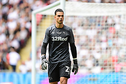 May 27, 2019 - London, England, United Kingdom - Kelle Roos (21) of Derby County during the Sky Bet Championship match between Aston Villa and Derby County at Wembley Stadium, London on Monday 27th May 2019. (Credit: Jon Hobley | MI News) (Credit Image: © Mi News/NurPhoto via ZUMA Press)