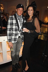 LAPO ELKANN and PIA MAROCCO at a party hosted by Allegra Hicks to launch Lapo Elkann's fashion range in London held at Allegra Hicks, 28 Cadogan Place, London on 14th November 2007.<br /><br />NON EXCLUSIVE - WORLD RIGHTS
