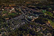 A Google Earth Pro rendering of Vintage Circle (bottom left), along Stagecoach Road and Fountaingrove Parkway in Santa Rosa, Calif. The area was later devastated by the Tubbs Fire in October 2017.