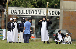 © Licensed to London News Pictures. 09/06/2013, London, UK.  Police at Darululoom Islamic boarding school in Chislehurst, southeast London where a 'suspicious' fire broke out, Sunday, June 9, 2013. Photo credit : Grant FalveyLNP